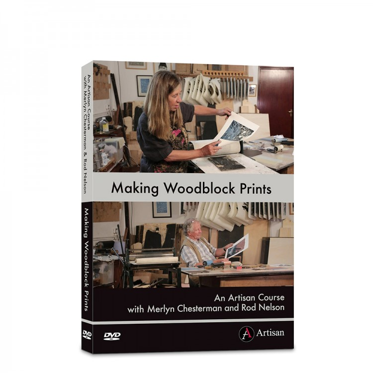 DVD: Making Woodblock Prints : Merlyn Chesterman and Rod Nelson