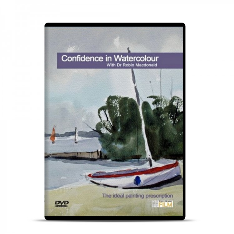 Townhouse DVD : Confidence in Watercolour : Dr Robin MacDonald