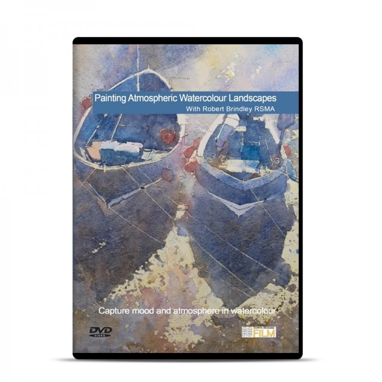Townhouse DVD : Painting Atmospheric Watercolours Landscapes : Robert Brindley
