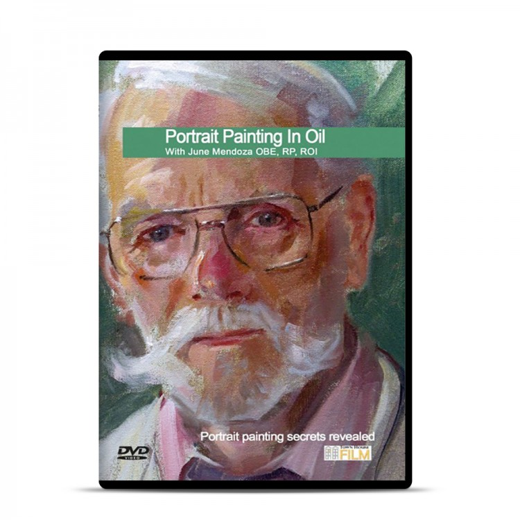 Townhouse DVD : Portrait Painting in Oil : June Mendoza