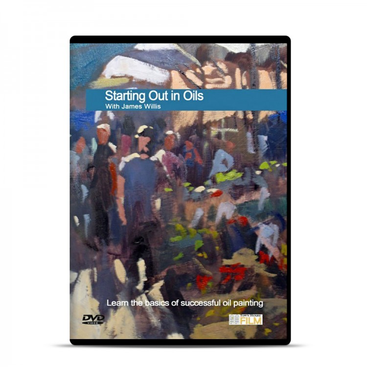 Townhouse DVD : Starting Out in Oils : James Willis