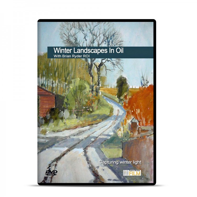 Townhouse DVD : Winter Landscapes in Oil : Brian Ryder ROI
