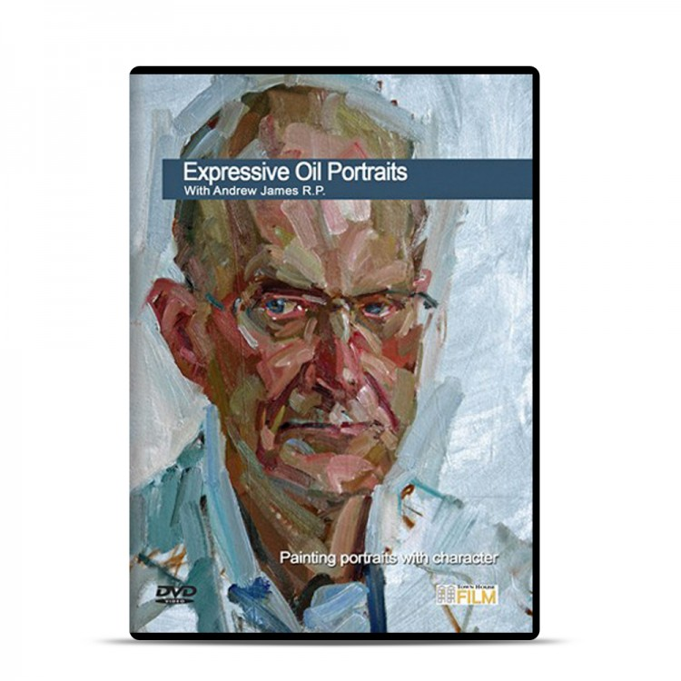 Townhouse DVD : Expressive Oil Portraits : Andrew James VP of the Royal Society of Portrait Painters