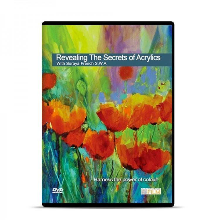 Townhouse DVD : Revealing the Secrets of Acrylics : Soraya French SWA