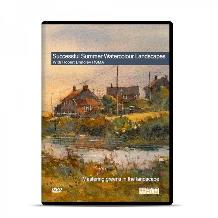 Townhouse DVD : Successful Summer Watercolour Landscapes : Robert Brindley RSMA