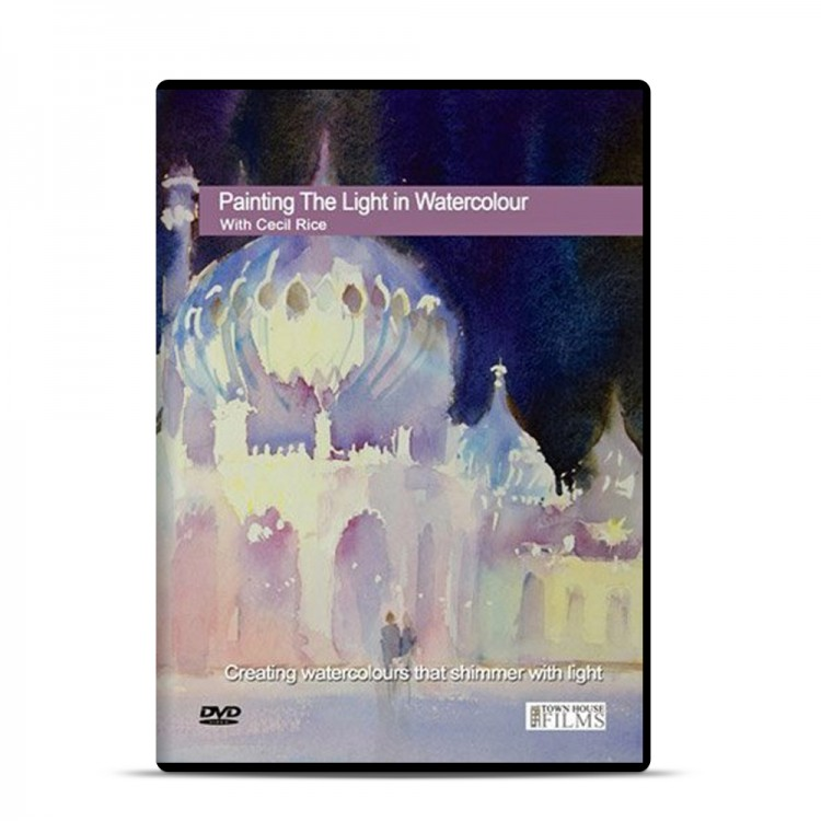 Townhouse DVD : Painting The Light In Watercolour : Cecil Rice