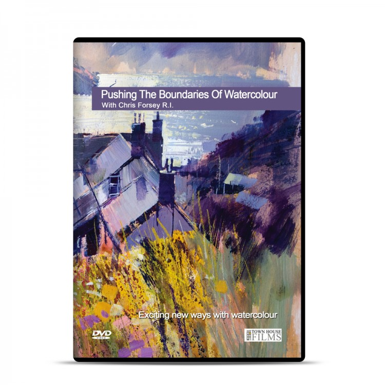 Townhouse DVD : Pushing The Boundaries Of Watercolour : Chris Forsey R.I.
