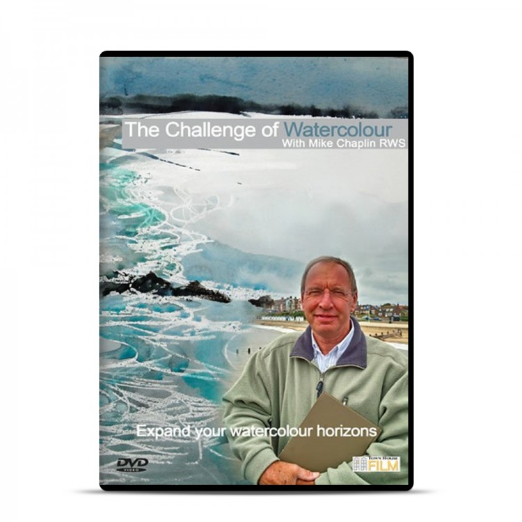 Townhouse DVD : The Challenge of Watercolour : Mike Chaplin