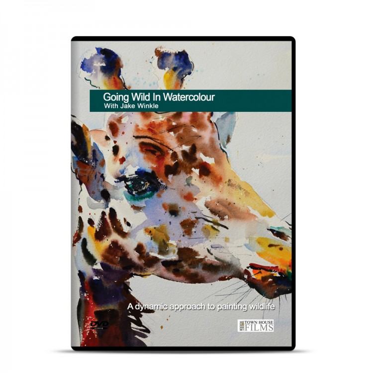 Townhouse DVD : Going Wild In Watercolour With Jake Winkle