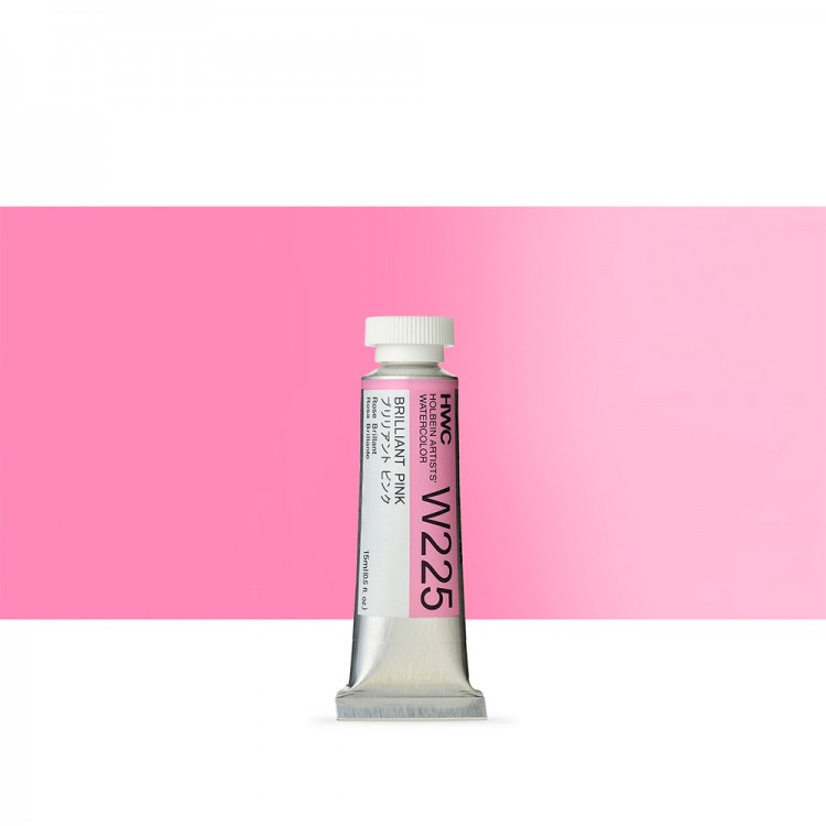 Holbein Watercolour Paint : 15ml : Brilliant Pink