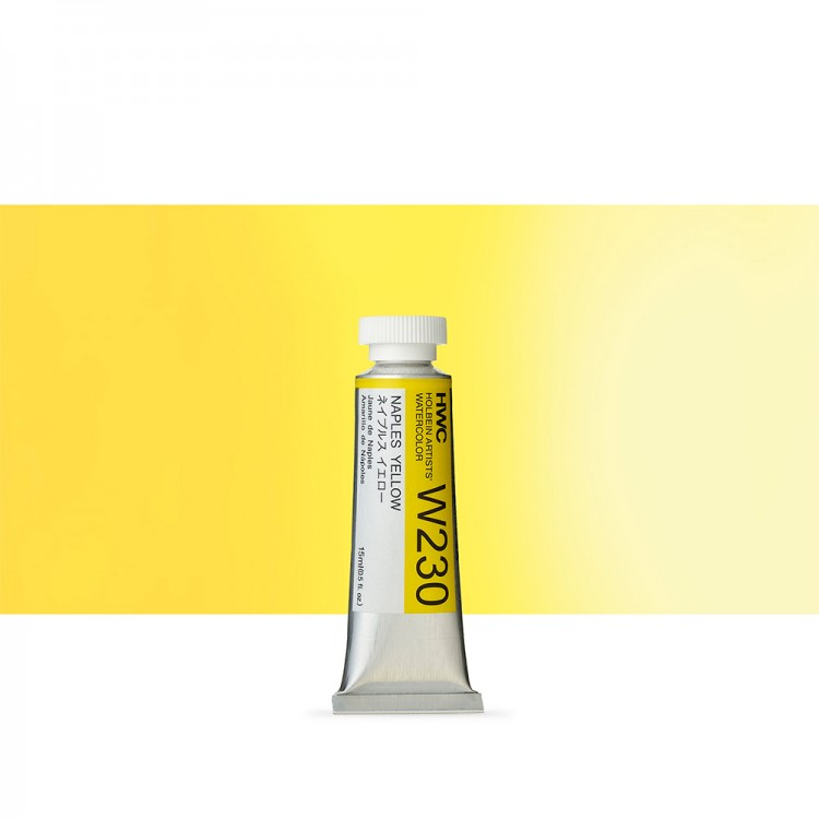 Holbein Watercolour : 15ml Tube NAPLES YELLOW