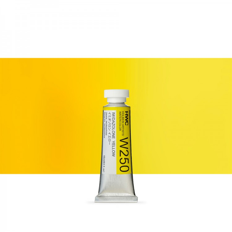 Holbein Watercolour : 15ml Tube IMIDAZOLINE YELLOW