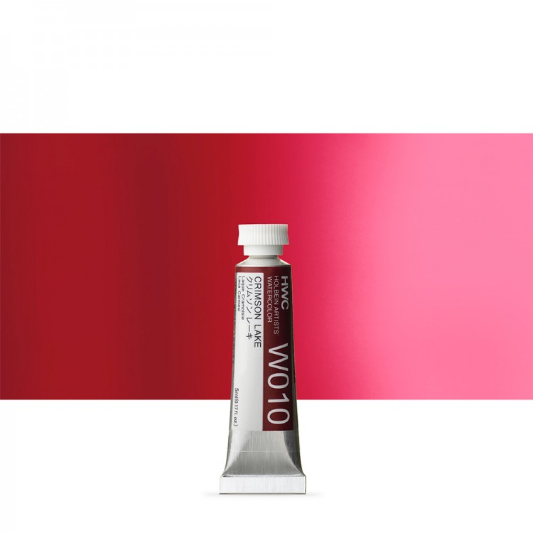 Holbein Watercolour : 5ml Tube CRIMSON LAKE