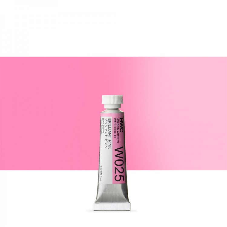 Holbein Watercolour Paint : 5ml : Brilliant Pink