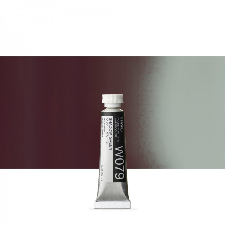 Holbein Watercolour : 5ml Tube SHADOW GREEN