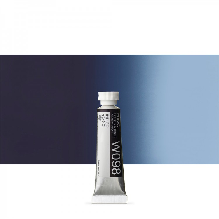 Holbein Watercolour : 5ml Tube INDIGO