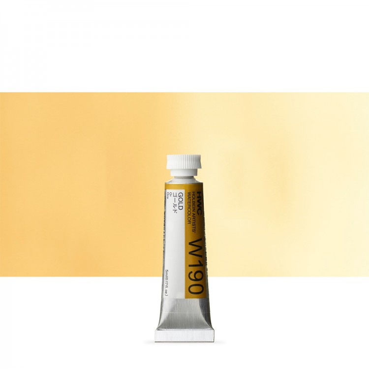 Holbein Watercolour : 5ml Tube GOLD