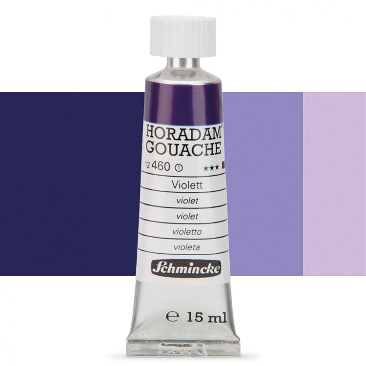 Schmincke : Horadam Gouache Paint : 15ml : Violet