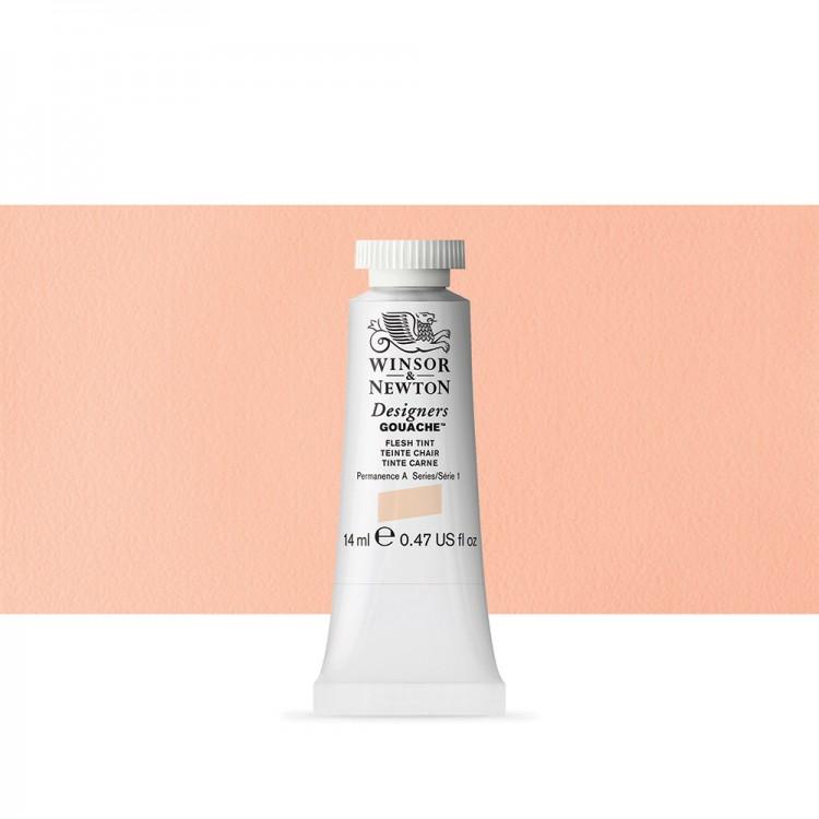 Winsor & Newton : Designer Gouache Paint : 14ml : Flesh Tint
