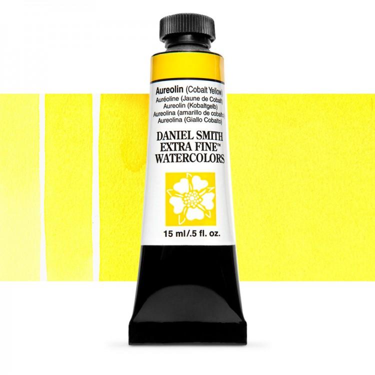 Daniel Smith : Watercolour Paint : 15ml : Aureolin (Cobalt Yellow) : Series 3