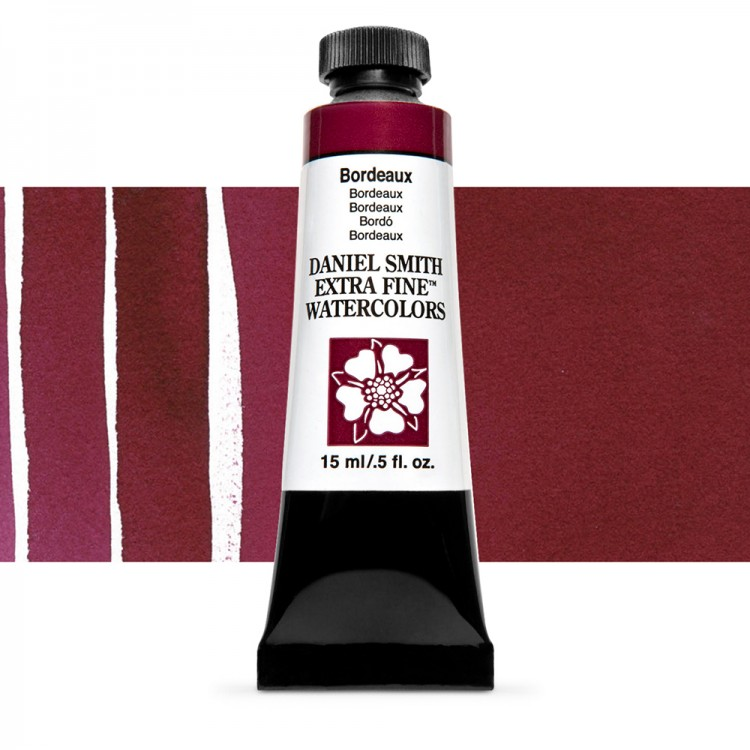 Daniel Smith : Watercolour Paint : 15ml : Bordeaux : Series 2