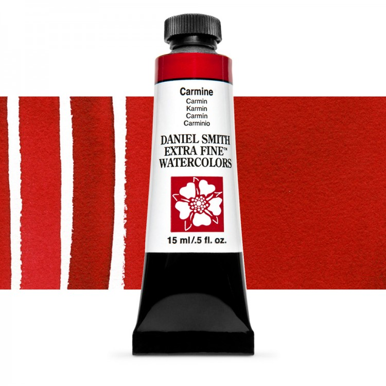Daniel Smith : Watercolour Paint : 15ml : Carmine : Series 2