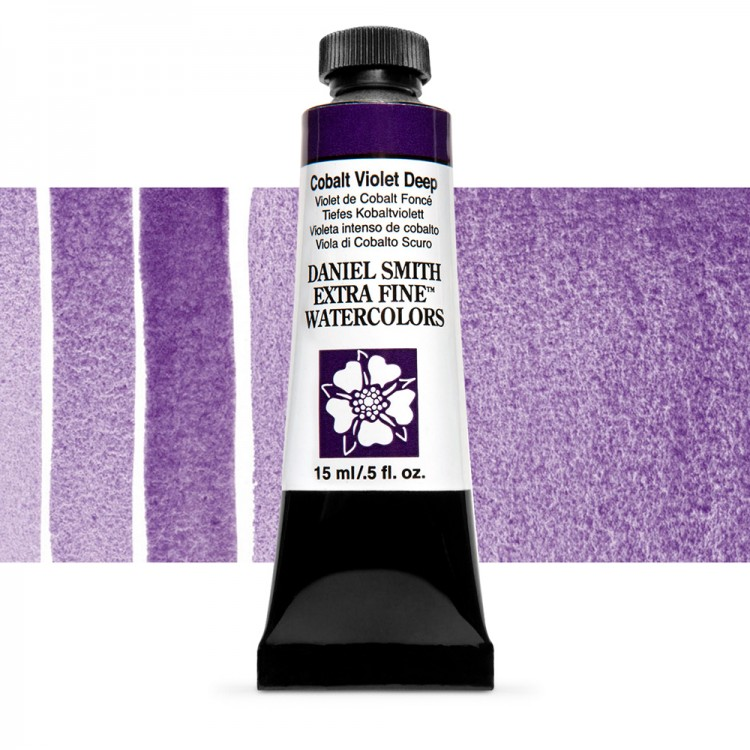 Daniel Smith : Watercolour Paint : 15ml : Cobalt Violet Deep : Series 3