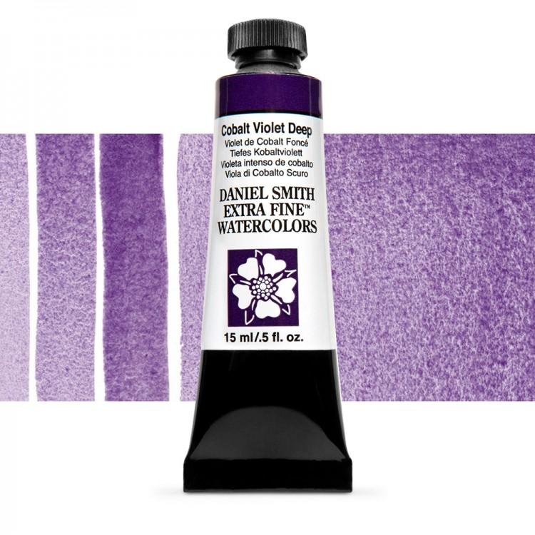 Daniel Smith : Watercolour Paint : 15ml : Cobalt Violet Deep : Series 3