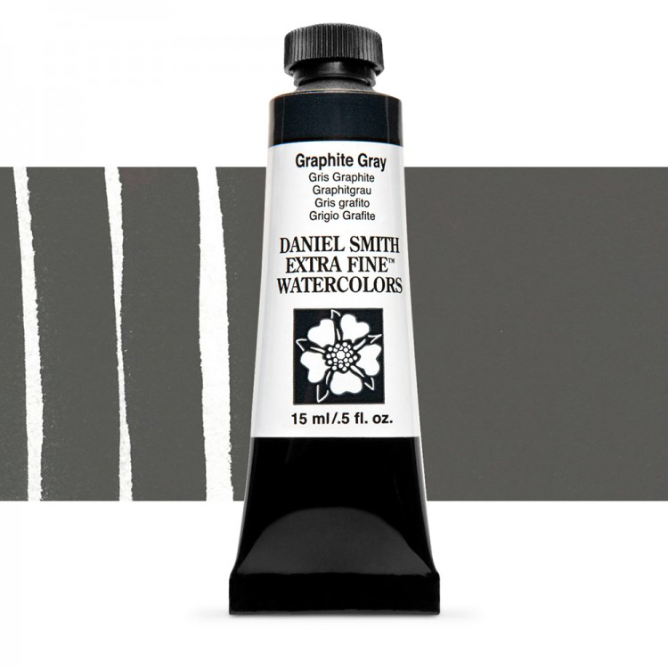 Daniel Smith : Watercolour Paint : 15ml : Graphite Gray : Series 1