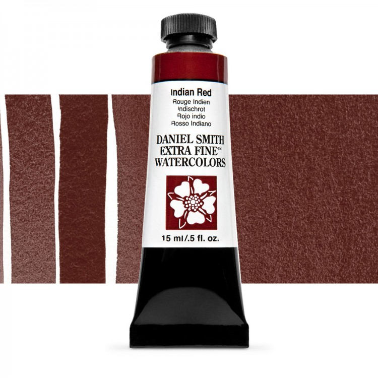 Daniel Smith : Watercolour Paint : 15ml : Indian Red : Series 1