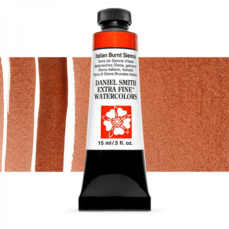 Daniel Smith : Watercolour Paint : 15ml : Italian Burnt Sienna : Series 2
