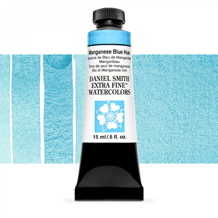 Daniel Smith : Watercolour Paint : 15ml : Manganese Blue Hue : Series 1