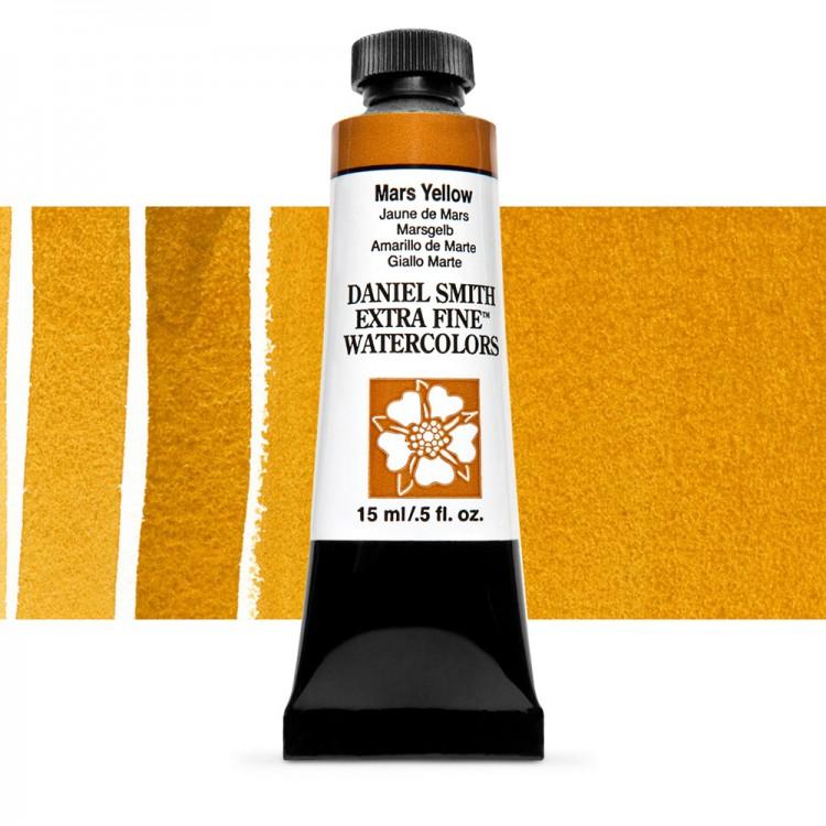 Daniel Smith : Watercolour Paint : 15ml : Mars Yellow : Series 1