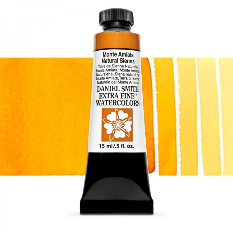 Daniel Smith : Watercolour Paint : 15ml : Monte Amiata Natural Sienna : Series 1