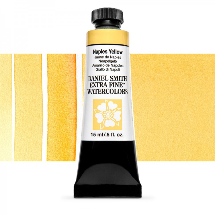 Daniel Smith : Watercolour Paint : 15ml : Naples Yellow : Series 1