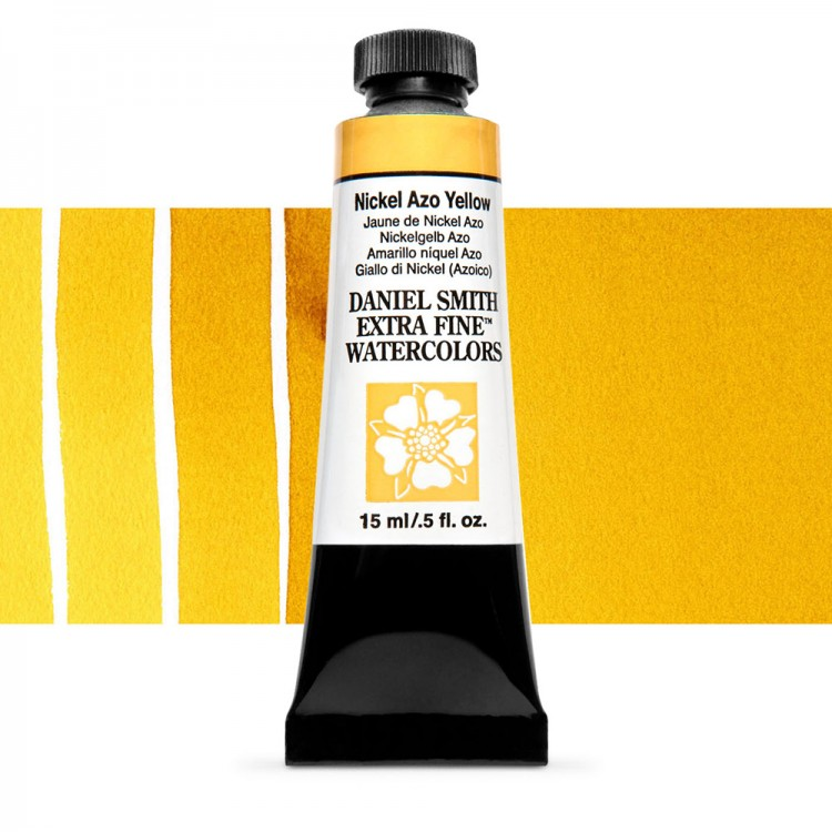 Daniel Smith : Watercolour Paint : 15ml : Nickel Azo Yellow : Series 2