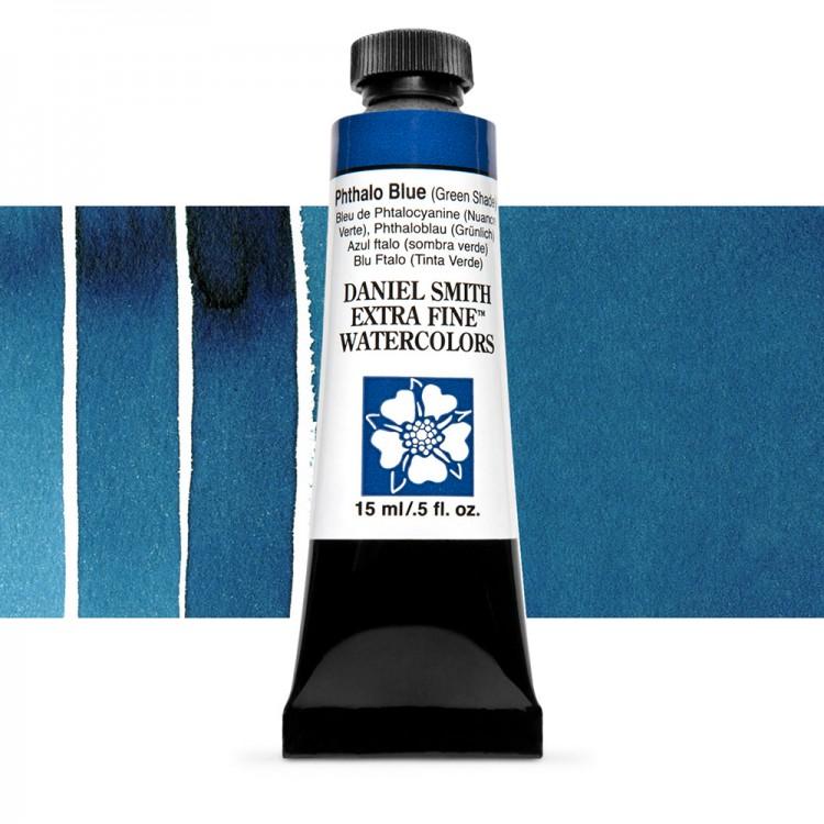 Daniel Smith : Watercolour Paint : 15ml : Phthalo Blue (GS) : Series 1