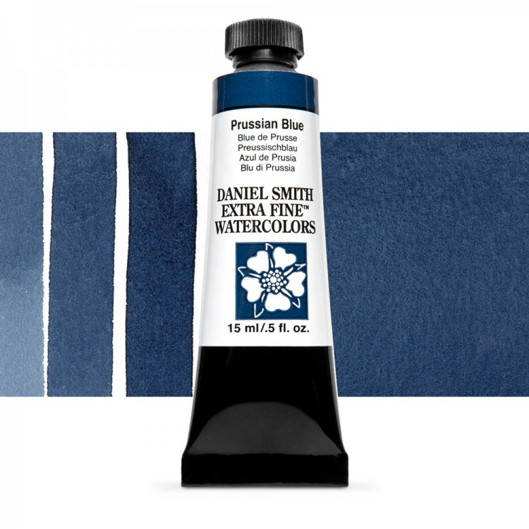 Daniel Smith : Watercolour Paint : 15ml : Prussian Blue : Series 1