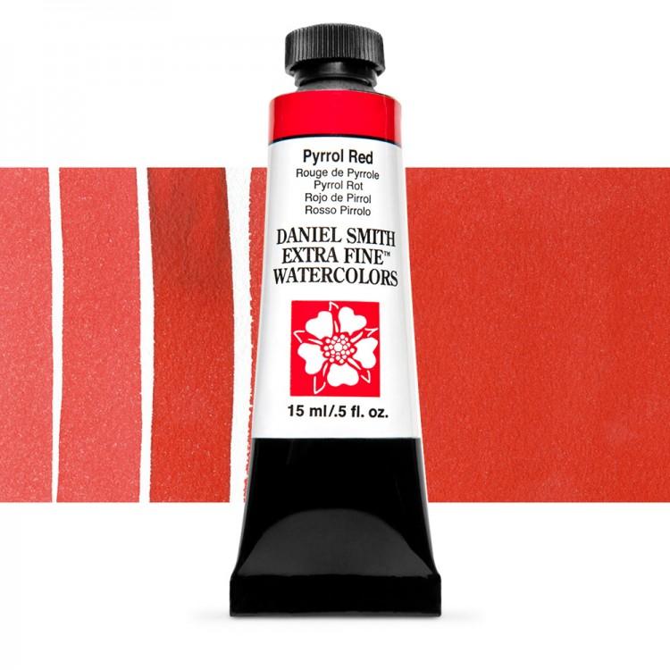 Daniel Smith : Watercolour Paint : 15ml : Pyrrol Red : Series 3