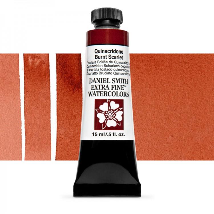 Daniel Smith : Watercolour Paint : 15ml : Quinacridone Burnt Scarlet : Series 2