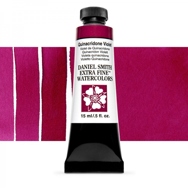 Daniel Smith : Watercolour Paint : 15ml : Quinacridone Violet : Series 2