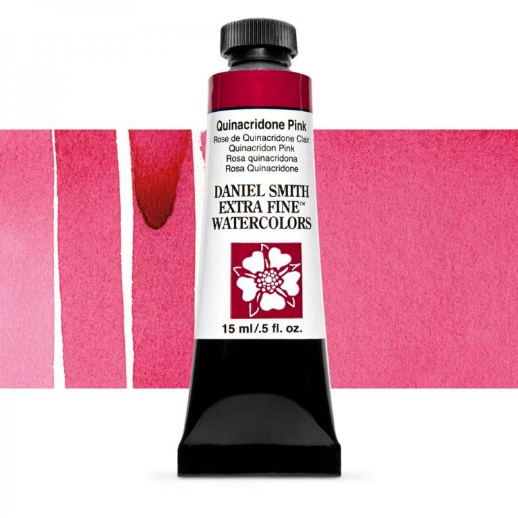 Daniel Smith : Watercolour Paint : 15ml : Quinacridone Pink : Series 2