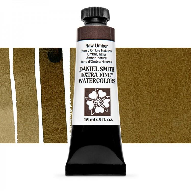 Daniel Smith : Watercolour Paint : 15ml : Raw Umber : Series 1