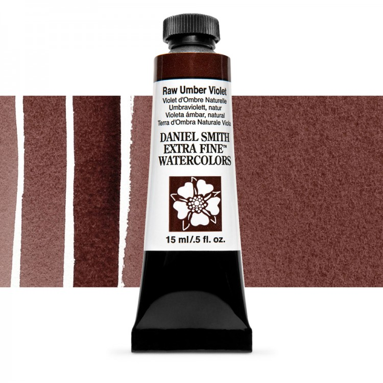 Daniel Smith : Watercolour Paint : 15ml : Raw Umber Violet : Series 1