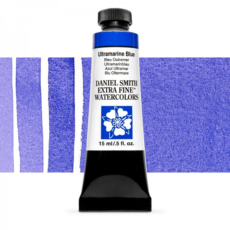 Daniel Smith : Watercolour Paint : 15ml : Ultramarine Blue : Series 1