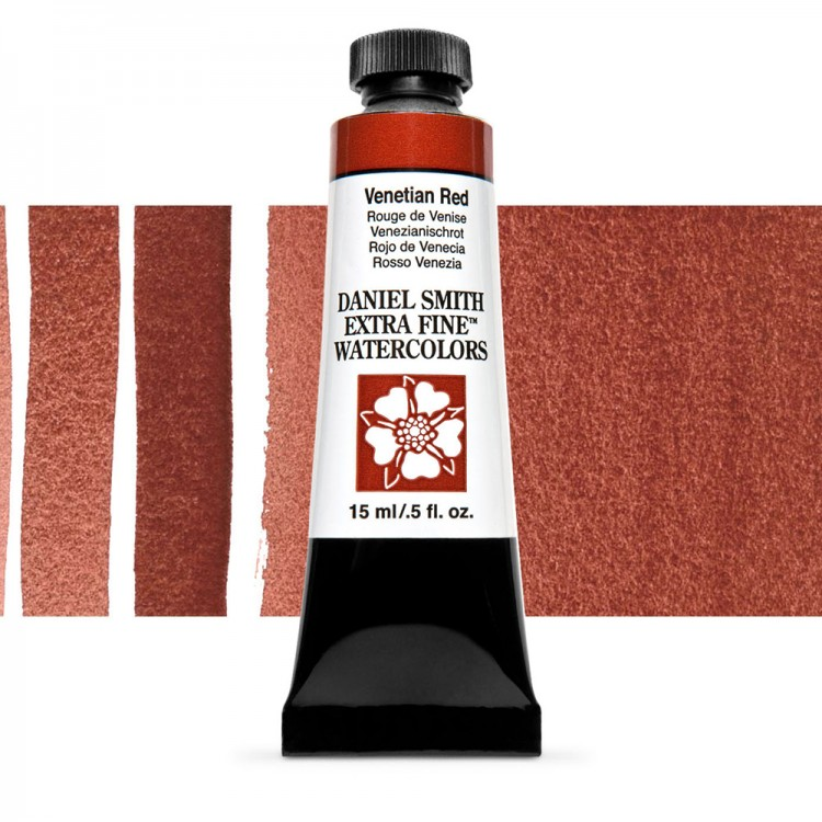 Daniel Smith : Watercolour Paint : 15ml : Venetian Red : Series 1