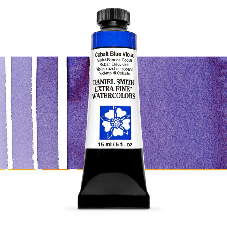 Daniel Smith : Watercolour Paint : 15ml : Cobalt Blue Violet : Series 3