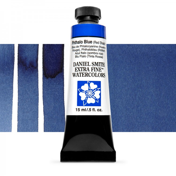 Daniel Smith : Watercolour Paint : 15ml : Phthalo Blue (RS) : Series 1