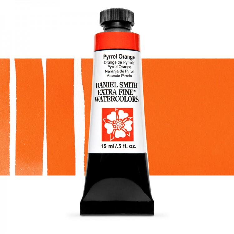 Daniel Smith : Watercolour Paint : 15ml : Pyrrol Orange : Series 2
