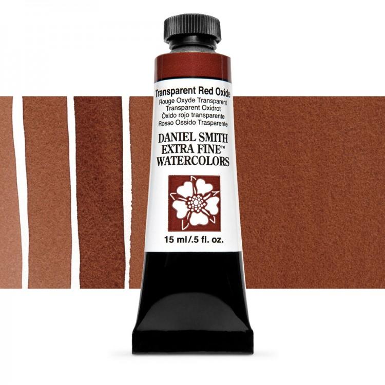 Daniel Smith : Watercolour Paint : 15ml : Transparent Red Oxide : Series 1
